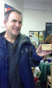 Look who showed up at Where the Books Go in Evergreen: Jim Wulff, CacheOlogist.